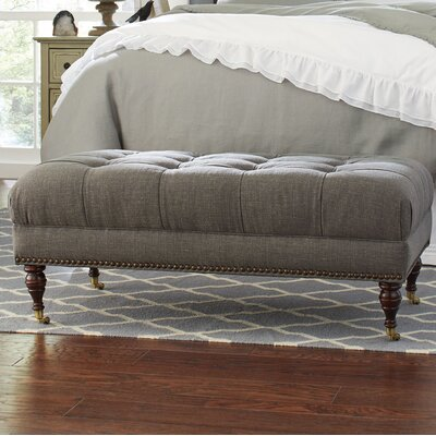 Gallagher Ottoman Upholstery: Lizzy Graphite