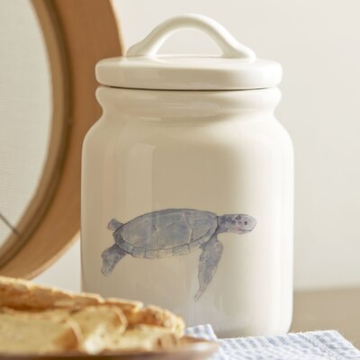 Under the Sea Turtle Canister