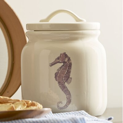 Under the Sea Seahorse Canister