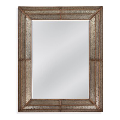 Levi Hammered Iron Mirror