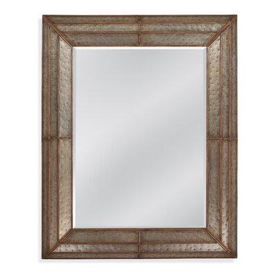 Levi Hammered Iron Mirror