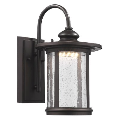 Warrington Outdoor Wall Lantern Size: 13 H x 7.5 W x 9.3 D
