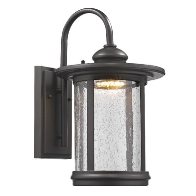 Warrington Outdoor Wall Lantern Size: 15 H x 9.3 W x 10.8 D