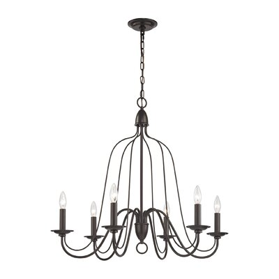 Hatfield 6-Light Candle-Style Chandelier