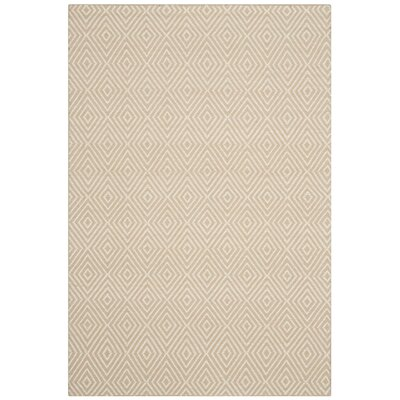 Kris Taupe Rug Rug Size: 5' x 8'