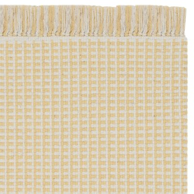 Iggy Hand-Woven Yellow Area Rug Rug Size: Rectangle 4 x 6