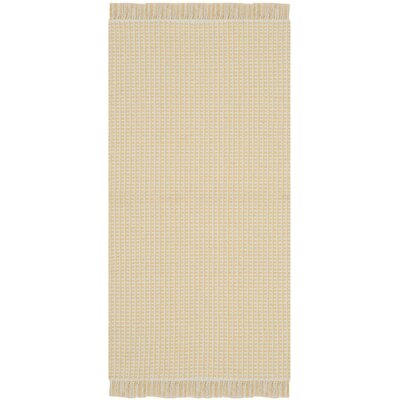 Iggy Yellow Rug Rug Size: Square 6
