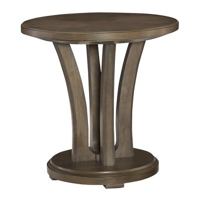 Garrey Round Chairside Table