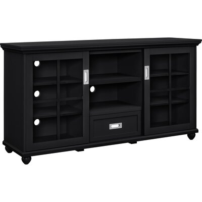 Honeysett TV Stand Finish: Black