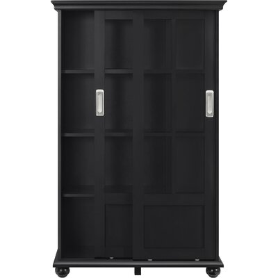 Honeysett 51 Standard Bookcase Finish: Black