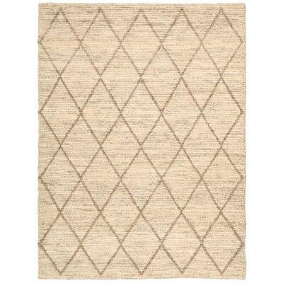 Cordell Tan Rug Rug Size: 53 x 75