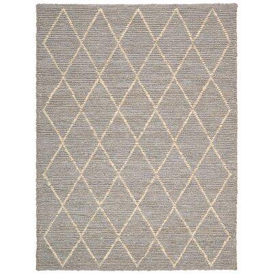 Cordell Handmade Gray Area Rug Rug Size: 8' x 10'