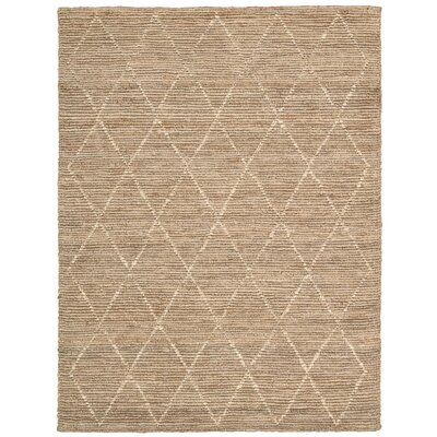 Cordell Handmade Brown Area Rug