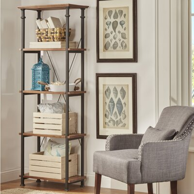 Eastfield Bookcase in Brown