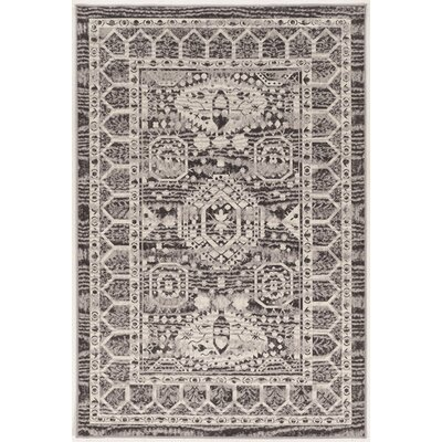 Reginald Beige/Gray Rug Rug Size: 5' x 7'6