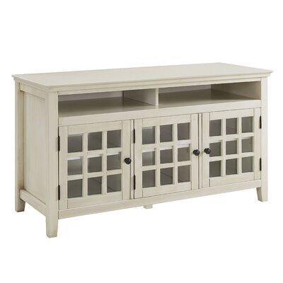 Weller TV Stand Finish: White