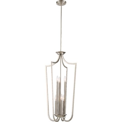 Beckford Pendant Finish: Brushed  Nickel
