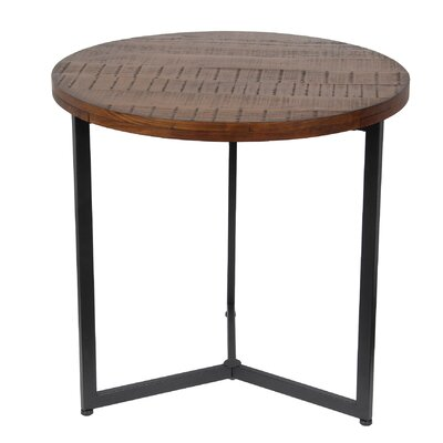 Verret Side Table Finish: Medium Brown