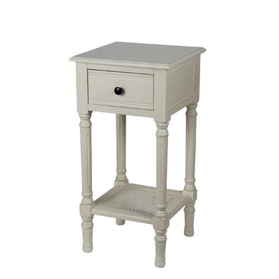 Capell Square Side Table Finish: Vanilla Bean
