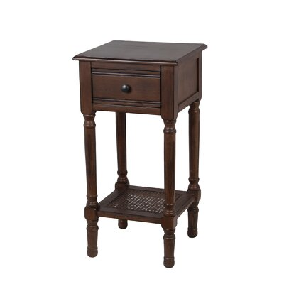 Capell Square Side Table Finish: Aged Amber