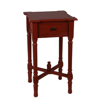 Cricklade Square Side Table Finish: Terracotta