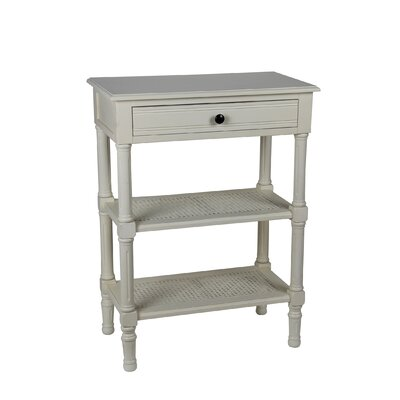 Capell Rectangular Side Table Finish: Vanilla Bean