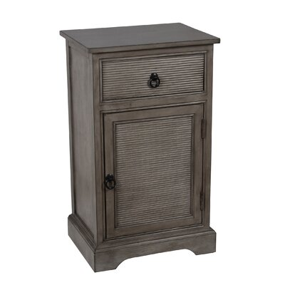 Cobden Side Table Finish: Weather Stone