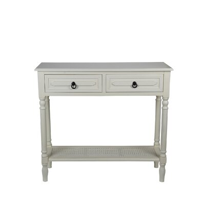 Seamus Console Table Finish: Vanilla Bean