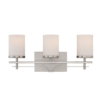 Dyment Vanity Light Finish: Satin Nickel