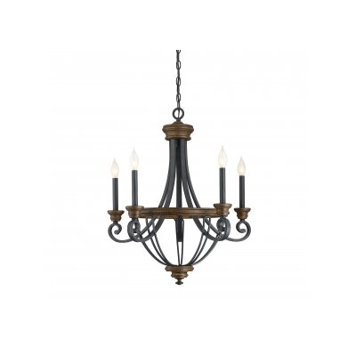 Congreve 5-Light Candle-Style Chandelier