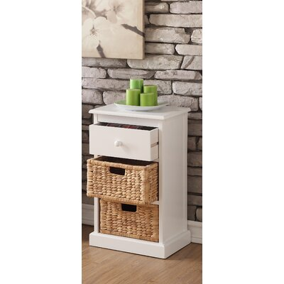Dekker 2-Basket Storage Chest Finish: White