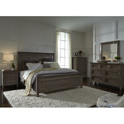 Carly Platform Configurable Bedroom Set