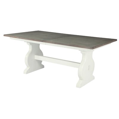 Plummer Extending Trestle Dining Table
