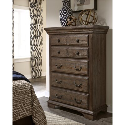 Copenhagen Thurmond 5 Drawers Standard Chest