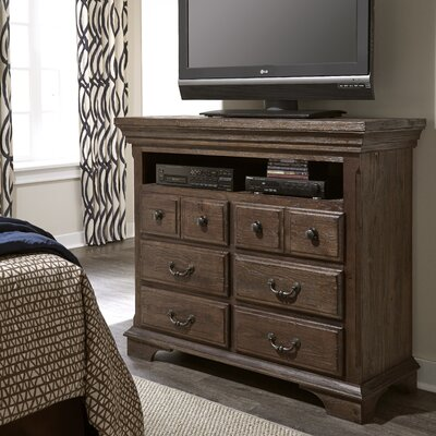 Copenhagen Thurmond 6 Drawer Media Chest