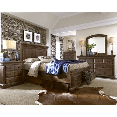 Thurmond Storage Footboard Size: King