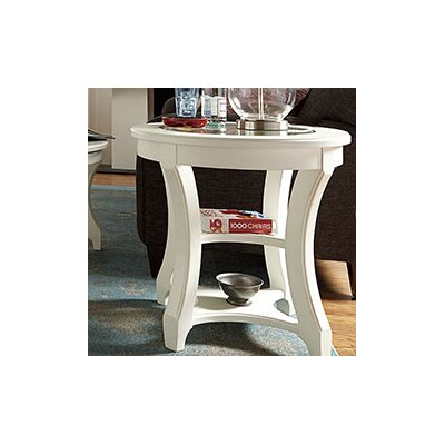 Burchett Round Chairside Table