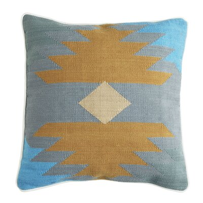 Alameda Pillow Cover Color: Sky Blue