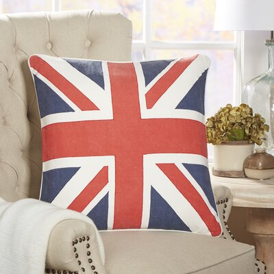 British Flag Fleet Pillow Cover
