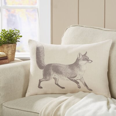 Meadow Fox Lumbar Pillow