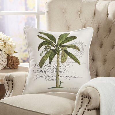 Majestic Palm Pillow Cover
