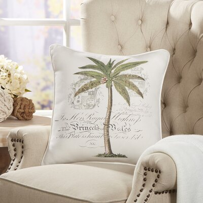 Royal Palm Pillow Cover