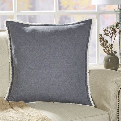 Crochet Seabury Chambray Pillow Cover