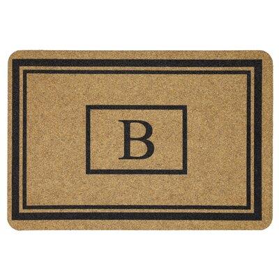 Monogram Doormat Letter: B