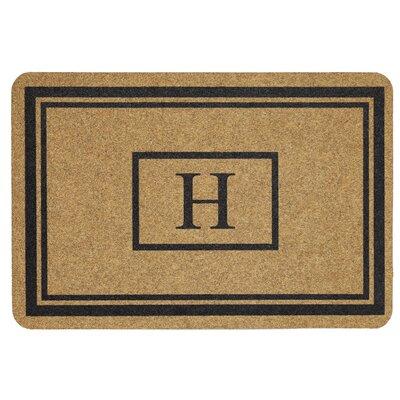 Monogram Doormat Letter: H