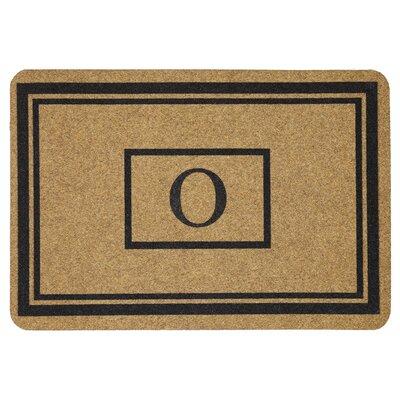 Monogram Doormat Letter: O