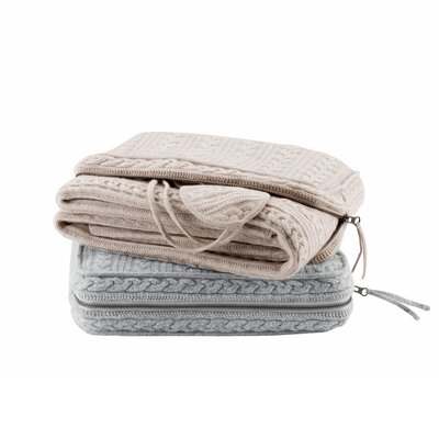 3 Piece Travel Throw Blanket Set