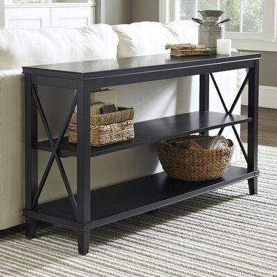 Larksmill Console Table Finish: Black