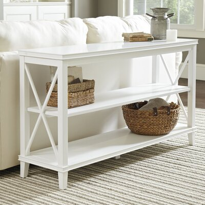 Larksmill Console Table Finish: White