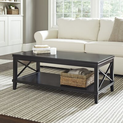 Larksmill Coffee Table Color: Black